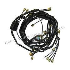 complete wiring harness made in the usa fits 52 66 m38a1 in 24 volt