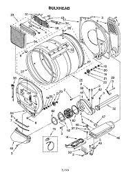 Kenmore 90 Series Model 110 60912990 Parts Diagram Dryer Repair
