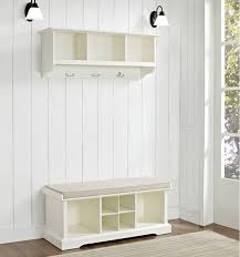 Coat Racks With Storage Bench Mudroom Padded Storage Bench Hall Bench And Coat Rack Long Small 47