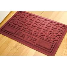 water hog rug personalized pet mats at now waterhog rug runners ll bean waterhog mat cleaning