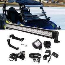 "For Polaris RZR 1000 900 XP Upper <b>Roof</b> 30"" Straight LED Light ..."