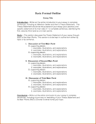 cover letter example of a formal outline for an essay example of a   cover letter how to write an informal essay introduction exploratory essays outlineexample of a formal outline