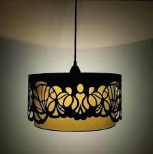 cube lamp shades laser cut wooden lampshades shade frame uk