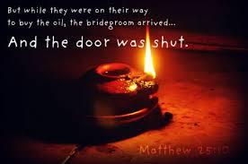 parable of the ten virgins matt 25:10