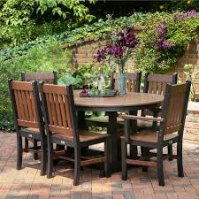 berlin gardens poly furniture. Berlin Gardens Oblong Mission Dining Set Poly Furniture
