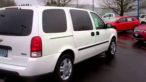 Chevy Uplander 7 passenger van with removable seats at Gresham ...
