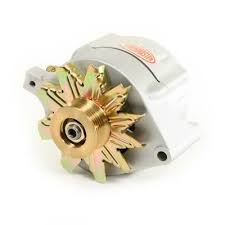 """8 47140 powermaster alternator ford upgrade natural 150a smooth 8 47140 powermaster alternator ford upgrade natural 150a smooth lookâ""""¢ 6 grv pulley 1 wire"""