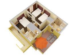 3D Floor PlansStaybridge Suites Floor Plan
