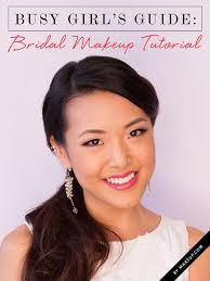 if you re pling a wedding you may not have to book a makeup artist with this diy bridal tutorial here s how to get the perfect look for any bride on