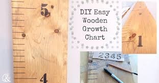 growth charts wooden chart wall canada tutorial