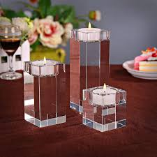 k9 crystal candle holders tealight candlestick home furnishing wedding candlestick decoration candles