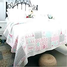 paris themed full size bedding themed quilt quilt set quilt home textile cotton kids pink theme
