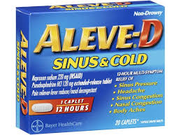 gout pain relief aleve