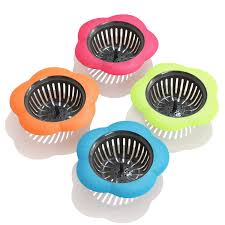 Betwoo Plastic Sink Strainer Kitchen Easy Clean Sink Drain Filter