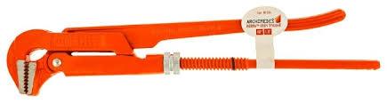<b>Ключ</b> трубный рычажный <b>Archimedes 90224</b> — купить по ...