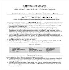 Sample General Manager Resume 15 Manager Resume Templates Doc Pdf Free Premium Templates