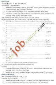 Resume Sample For Summer Job Monzaberglauf Verbandcom