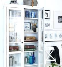 artistic display cabinets with glass doors ikea bookcase pretty things d in glass door cabinet in