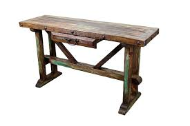Diy Rustic Console Sofa Table Hot Home Decor Decorating Rustic