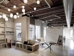 interior industrial design ideas home. Lighting Ideas Industrial Home Office Pendant With Cage Along Interior Design Surprising Photo Designs U