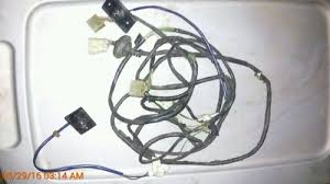 complete r tail light wiring harness toyota pickup wd item information