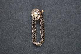 diy chain back earrings