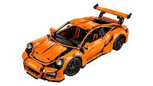 Porsche Engineering Expertise As Lego Technic Model