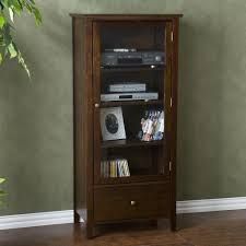 small media cabinets with glass doors outstanding audio cabinet with glass door choice image doors design modern