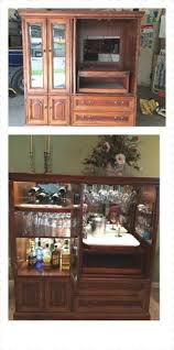 indoor bars furniture. family heirloom conversion from entertainment center to bar indoor bars furniture