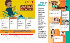 Jolt Kids Magazine Table of Contents Masthead Jeddah Balgame
