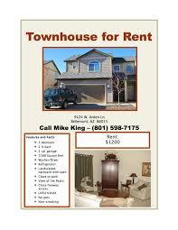 for rent flyer template for rent flyer template 17