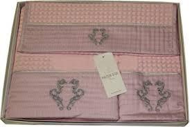 Набор вафельных <b>полотенец с вышивкой</b> Brice Apone (EMD) 3 ...