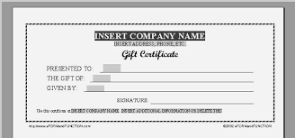Gift Certificate Word Template Free Mesmerizing Fantastic Gift Voucher Template Word Free Download How To Make A