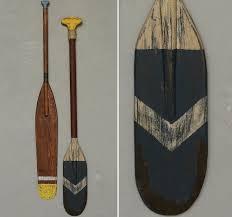 paddle wall decorreclaimed wood paddle wall art set of 2