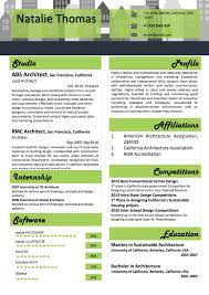 Architect Resume Template In Word