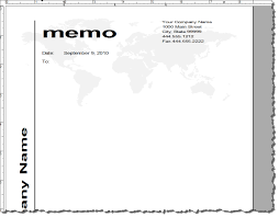 Best Photos Of Memos On Microsoft Word Blank Memo Template