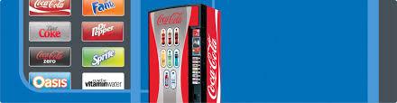 Coca Cola Vending Machine Uk Classy CocaCola Vending Machines KLIX Vending