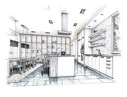 interior design sketches kitchen. Interior Design Sketches Kitchen House Planning A