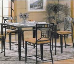 glass top dining room table sets rovigo small chrome and 4 chairs