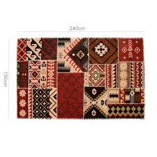 quick view patchwork jute rug size 5 x 8