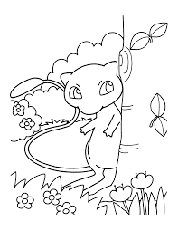 Small Picture Mewtwo Coloring Page Coloring Coloring Pages