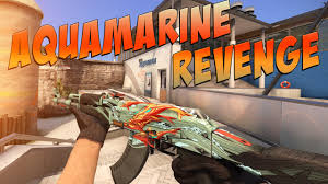 CS:GO - AK-47 | <b>Aquamarine Revenge</b> Gameplay - YouTube