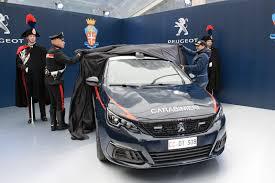 Police Peugeot 308 GTi — AAAJapan.com