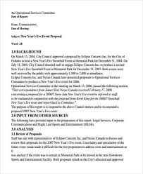 Sample Letter For Event Proposal 43 Event Proposals In Pdf Sample Templates Intended For Event