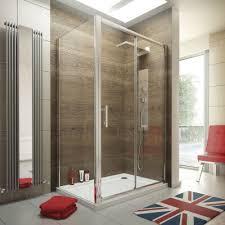 ergonomic designs 1400 x 900 sliding door shower enclosure