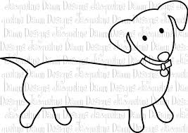 Dachshund Coloring Pages At Getdrawingscom Free For Personal Use