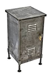vintage industrial simmons metal side table. Seldom Found All Original And Intact C. 1915-1920 Antique American Industrial Combination Pressed Steel Locker Cabinet Side Table Vintage Simmons Metal