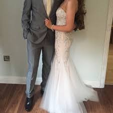 Trudy smith bridal boutique prom dress - Depop