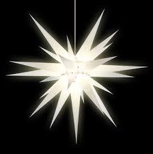 Herrnhuter Stern I8 Weiß Papier 80 Cm