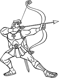 Small Picture Hercules Coloring Pages Wecoloringpage